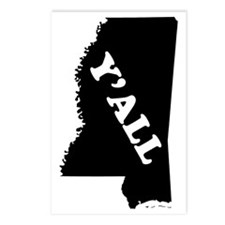 Mississippi Yall Postcards (Package of 8)