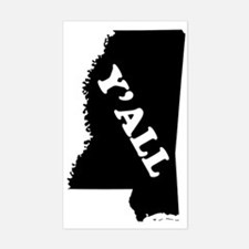 Mississippi Yall Decal