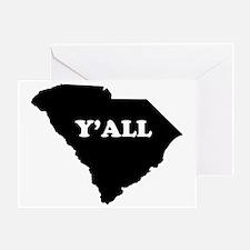 South Carolina Yall Greeting Card