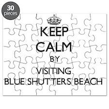 Cute Blue shutters Puzzle