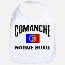 Comanche Native Blood Bib