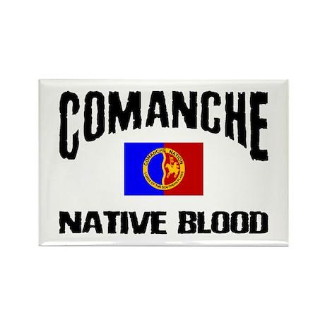 Comanche Native Blood Rectangle Magnet