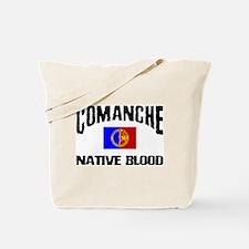 Comanche Native Blood Tote Bag