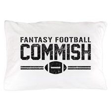 Fantasy Football Commish Pillow Case