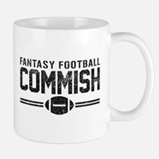 Fantasy Football Commish Mugs