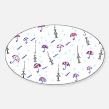 IT'S RAINING MEN Decal