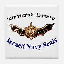 Israel Naval Commonado Tile Coaster