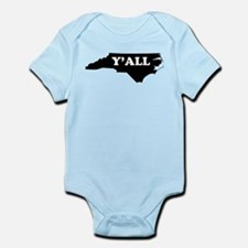 North Carolina Yall Body Suit