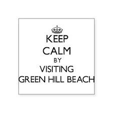 Keep calm by visiting Green Hill Beach Rhode Islan