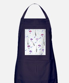 Cute Romantic mens Apron (dark)