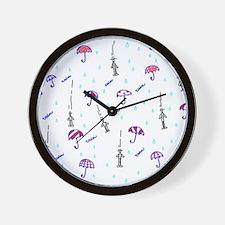 Cute Romantic mens Wall Clock