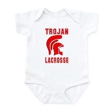Lacrosse Trojan Infant Bodysuit