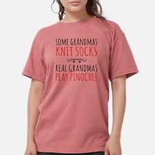 Real Grandmas Play Pinochle T-Shirt
