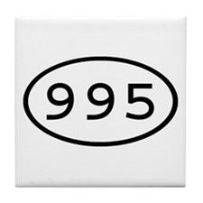 995 Oval Tile Coaster