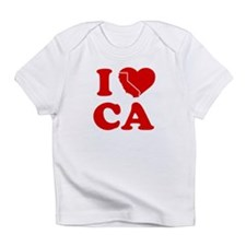 I Love California Heart Infant T-Shirt
