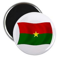 """Burkina Faso Flag 2.25"""" Magnet (100 pack)"""