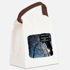 Winter Solitude Canvas Lunch Bag
