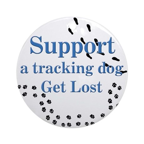 Support Tracking Ornament (Round)