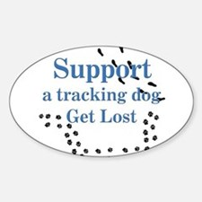 Support Tracking Sticker (Oval)