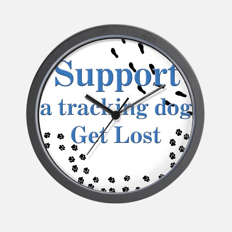 Support Tracking Wall Clock