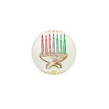 Kwanzaa Kinara Mini Button (100 pack)