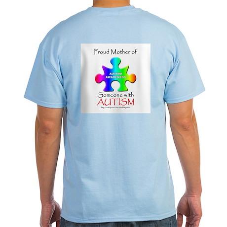 Proud Mother (backprint) Light T-Shirt