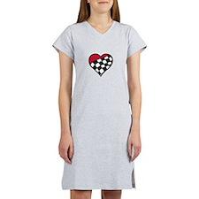 Racing Heart Women's Nightshirt