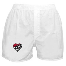 Racing Heart Boxer Shorts
