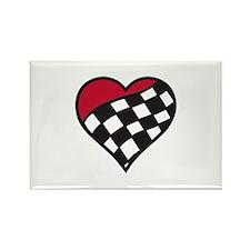 Racing Heart Magnets