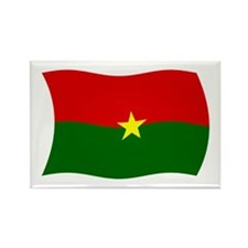 Burkina Faso Flag 2 Rectangle Magnet (100 pack)