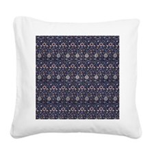 William Morris Evenlode Patte Square Canvas Pillow