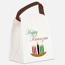 Elegant Happy Kwanzaa with hand drawn kinara Canva