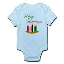 Elegant Happy Kwanzaa with hand drawn kinara Body