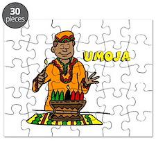 Umoja Man lighting the Kinara.png Puzzle