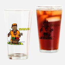 Umoja Man lighting the Kinara.png Drinking Glass