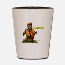 Umoja Man lighting the Kinara.png Shot Glass