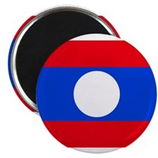 "laos flag 2.25"" Magnet (100 pack)"
