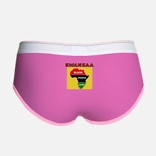 Kinara with lit candles.png Women's Boy Brief