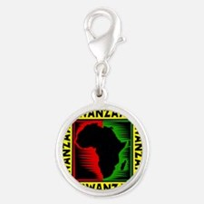 Celebrate Kwanzaa african print.png Charms