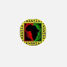 Celebrate Kwanzaa african print.png Mini Button