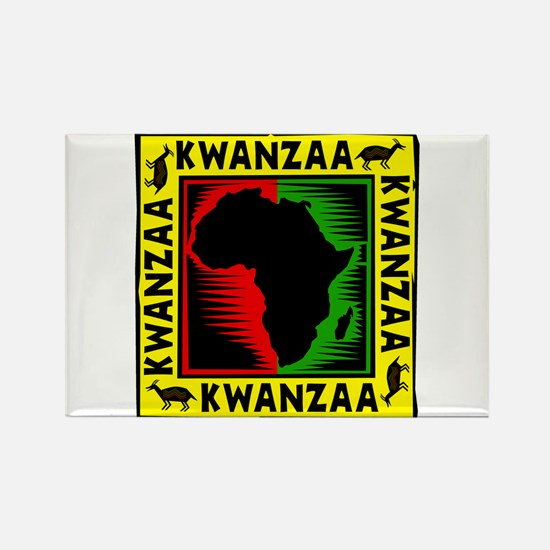 Celebrate Kwanzaa african print.png Magnets