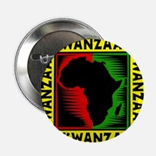 "Celebrate Kwanzaa african print.png 2.25"" Button"