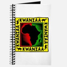 Celebrate Kwanzaa african print.png Journal