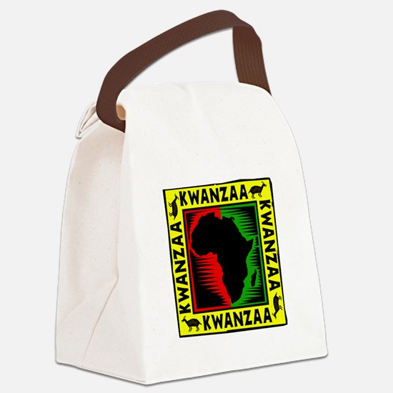 Celebrate Kwanzaa african print.png Canvas Lunch B