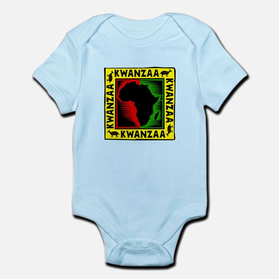 Celebrate Kwanzaa african print.png Body Suit