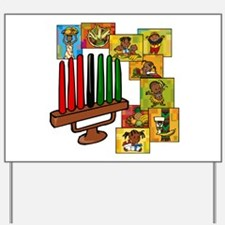 Celebrate Kwanzaa Together collage.png Yard Sign