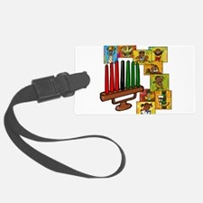 Celebrate Kwanzaa Together collage.png Luggage Tag