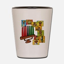 Celebrate Kwanzaa Together collage.png Shot Glass