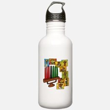 Celebrate Kwanzaa Together collage.png Water Bottl