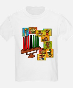 Celebrate Kwanzaa Together collage.png T-Shirt